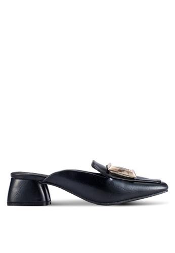 Alfio Raldo black Slip On Mule Heels AL803SH0R9PVMY_1