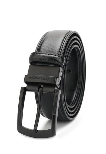 Volkswagen black 35mm Belt 21664ACA9C7B2AGS_1