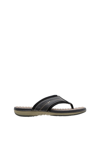 SEMBONIA black SEMBONIA Men Synthetic Leather Sandal (Black) SE598SH0SZ8JMY_1