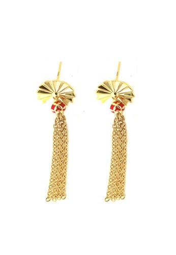 TOMEI gold TOMEI Earrings, Yellow Gold 916 (WS-YG1215E-EC) 7AFD4AC25DCB1EGS_1