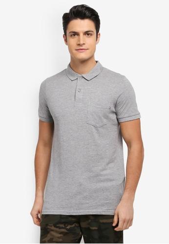 Cotton On grey Icon Polo Shirt 3387EAA18EF80CGS_1