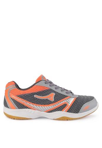 Ardiles grey Spandam Sepatu Badminton A0246SH063461DGS_1