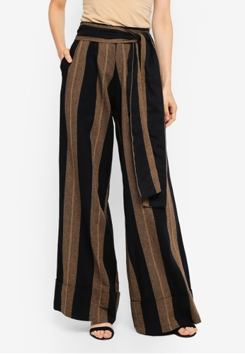 AfiqM multi Wide Leg Tailored Pants 2C84CAAE323F3FGS_1