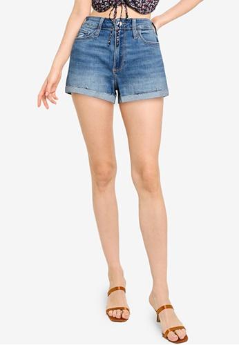 Hollister blue Casual Denim Shorts 2D36AAA33FF093GS_1