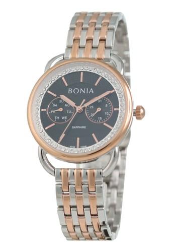 BONIA silver Bonia BP10440-2632 - Jam Tangan Wanita - Silver Rosegold A5FF0AC32E95A2GS_1