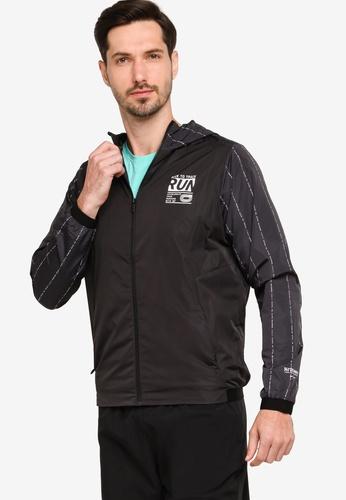 361° black Running Jacket 41FC6AA301BDA7GS_1