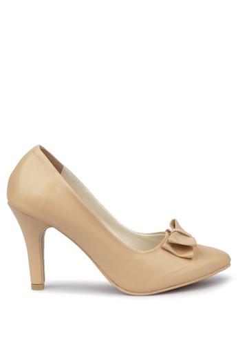 CLAYMORE gold Sepatu High Heels BB-702  Cream CL635SH37LIKID_1