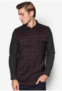 WT-Pin Checkered Long Sleeve Shirt