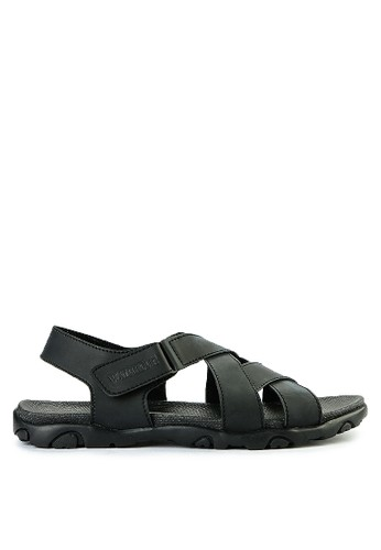 Watchout! Shoes black Sandals Strap 0408ASHB274DECGS_1