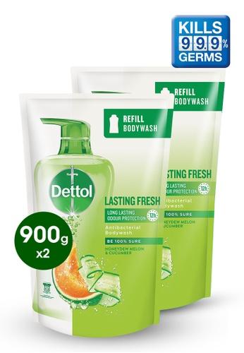 Dettol Dettol Body Wash Lasting Fresh Refill 900g - Bundle of 2 2A142ES6CFBEA7GS_1