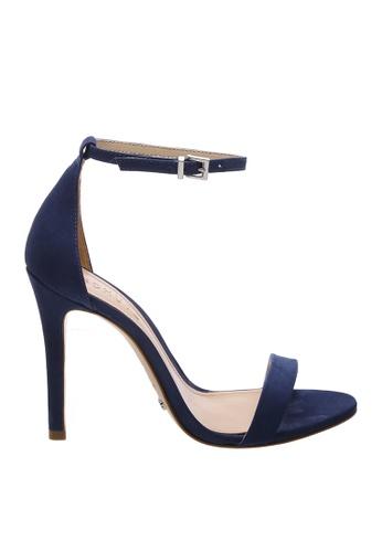 SCHUTZ 海軍藍色 SCHUTZ 搭帶高跟涼鞋 - MAGNOLIA (長裙藍色) 46A72SH6BD4F2DGS_1