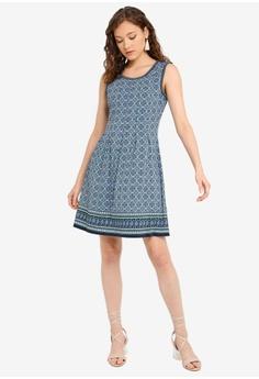 0c8a3d69 Max Studio Sleeveless Pleated Dress RM 195.00. Sizes XS S M L XL