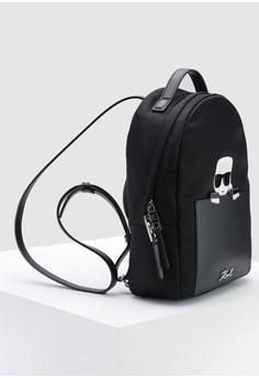 12383f547151 KARL LAGERFELD Ikonik Nylon Small Backpack RM 897.00. Sizes One Size
