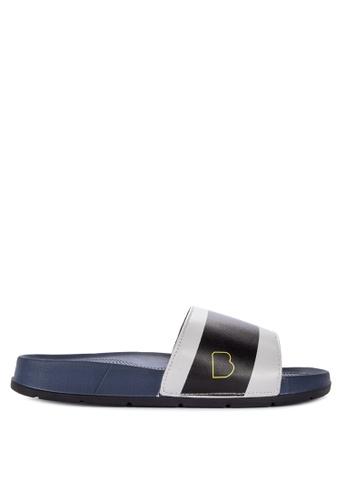 BENCH blue Buckle Strap Sandals 379A6SHD39840EGS_1