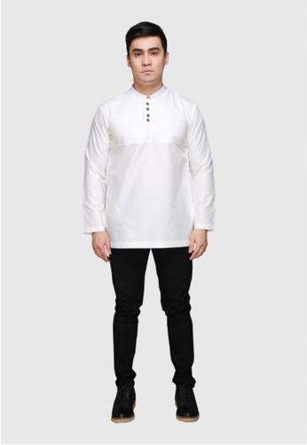 Amar Amran white Kurta Rayqal 5AD0CAAE54CEBCGS_1