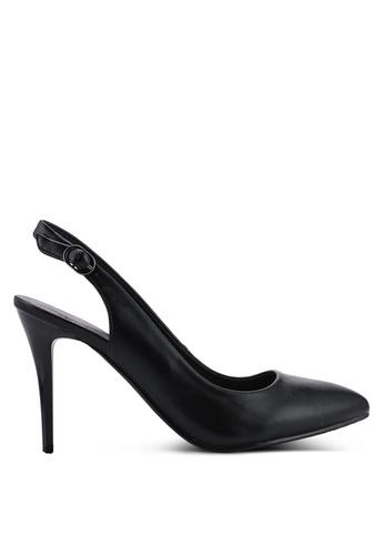 BETSY 黑色 繞踝高跟鞋 4479FSH06B33D0GS_1