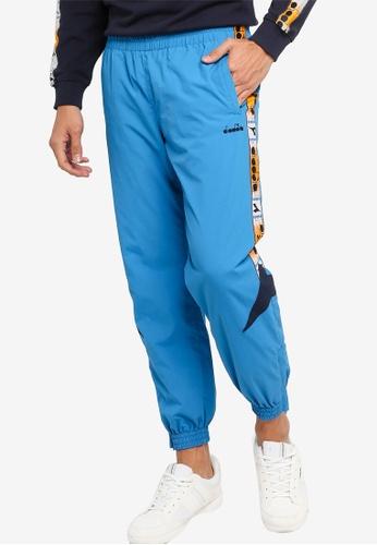 Diadora blue Mvb Track Pants 8900DAA39B9959GS_1