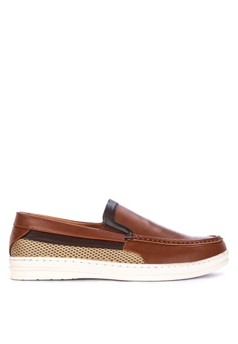 H2Ocean brown Quaid Men's Casual Slip-ons 13CCBSHAE7CA96GS_1