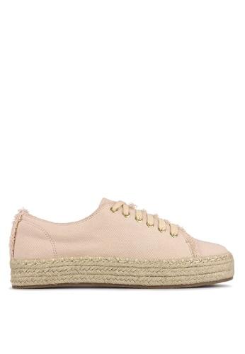 Betts pink Juniper Espadrille Sneakers 5B180SHC55E9A6GS_1
