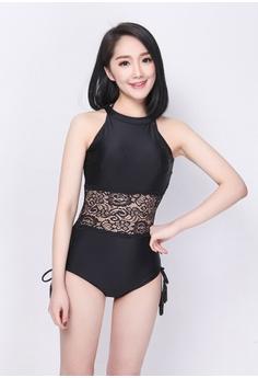 2a3b24abdd hk-ehunter black 2-Piece Set Swimsuit 2403EUS0432EB6GS 1