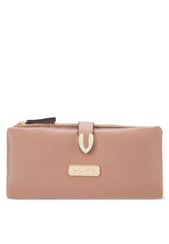 Unisa brown Soft Supple Bi-Fold Wallet With Metal Tip UN821AC65EJYMY_1