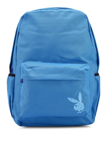 Playboy blue Playboy Backpack DF264ACB57399AGS_1