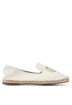 【ZALORA】 Taco 刺繡 懶人鞋 帆布鞋