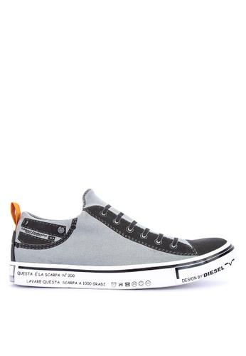 Diesel grey Imaginee S Sneakers 26139SHC33EB1AGS_1