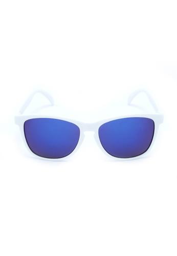 2i's to eyes white and blue 2i's Sunglasses - NitaB 2I983AC90OZDHK_1