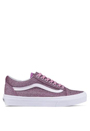 VANS multi Old Skool Lurex Glitter Sneakers 945B3SHCD20380GS_1