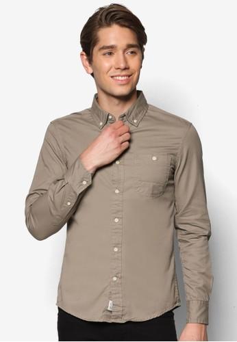 Twill Garment Dyed Shiesprit 評價rt, 服飾, 服飾
