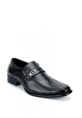 Cardam's Lifestyle black Clive Formal Shoes 2C428SH6987540GS_1