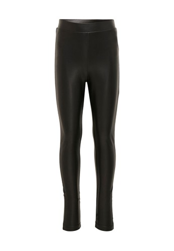 ONLY black Cool Coated Leggings 21CCCKAEC710F4GS_1