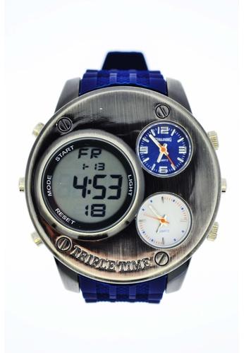 Spalding blue Spalding Timepiece SP-056 A8EBFACD09D942GS_1