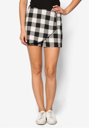 格紋裹飾短褲,esprit 寢具 服飾, 短褲