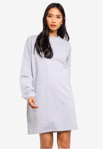 e5b2be198e Buy MISSGUIDED Sweater Dress Basic Online on ZALORA Singapore