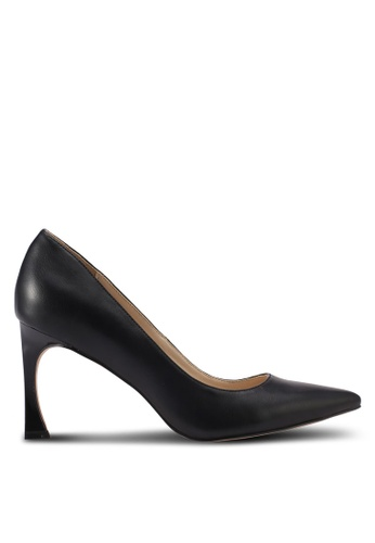ZALORA black Covered Pumps with Feature Heel 6CCF2SH218BE52GS_1