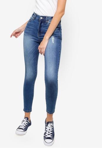 Dr Denim blue Erin Skinny Jeans E2C42AA3606E43GS_1