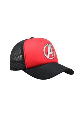 Snapback red Snapback Trucker Black Red2 Logo Avanger MAVG10027BKRD2_0119 5413BAC6646A84GS_1