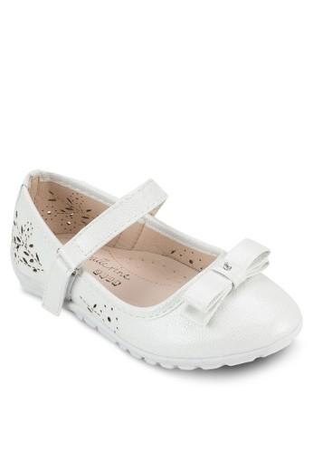 Avery 雕花舒適平esprit retail底鞋, 鞋