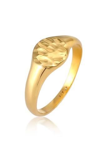 ELLI GERMANY gold Woman Signet Hammerlock Gold Ring A3D0BAC9E872E5GS_1