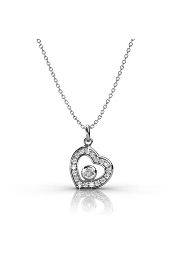 f984f16dacb2 Her Jewellery silver Lovely Pendant (Zicornia) - Embellished with Zirconia  from Swarovski® HE210AC94HLTSG 1