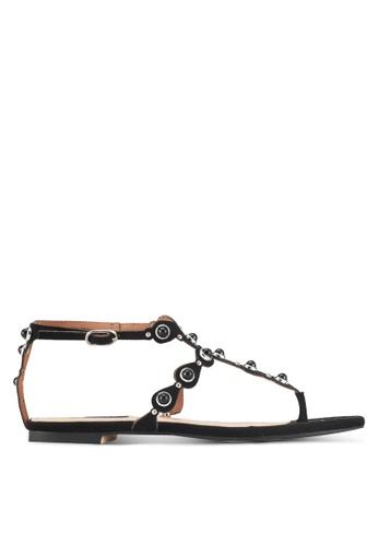 ZALORA black Bohemian-Look Sandals 3D070SH8B6B097GS_1
