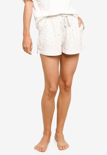 Cotton On Body grey Jersey Sleep Shorts E9ADEAA25837A2GS_1