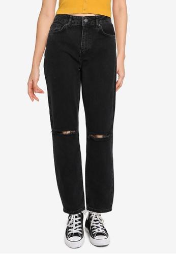 Noisy May grey Isabel Mom Jeans 45AD0AAD75EBAAGS_1
