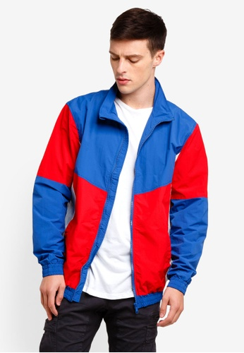 Cotton On 紅色 Retro Track Jacket ECB3CAADEA5662GS_1