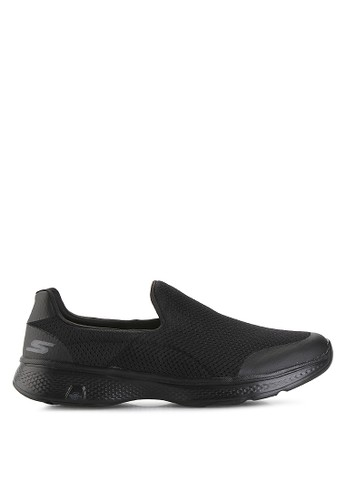 Skechers black Go Walk 4 SK173SH23ZSIID_1