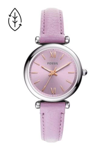 Fossil purple Carlie Mini Watch ES5102 D3ECDAC47F0598GS_1