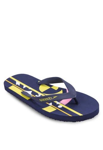 印花夾zalora是哪裡的牌子腳拖, 女鞋, 運動鞋