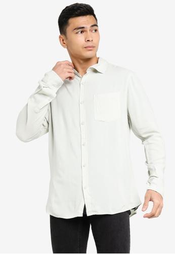 Cotton On grey Cayman Long Sleeve Shirt BD274AA09F7ED1GS_1